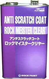3:1 Anti Scratch Coat Rock Meister Clear